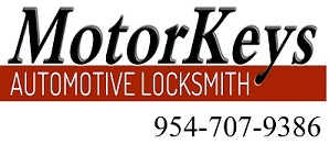 Motorkeys Automotive Locksmith Fort Lauderdale, FL call us at 954-707-9386
